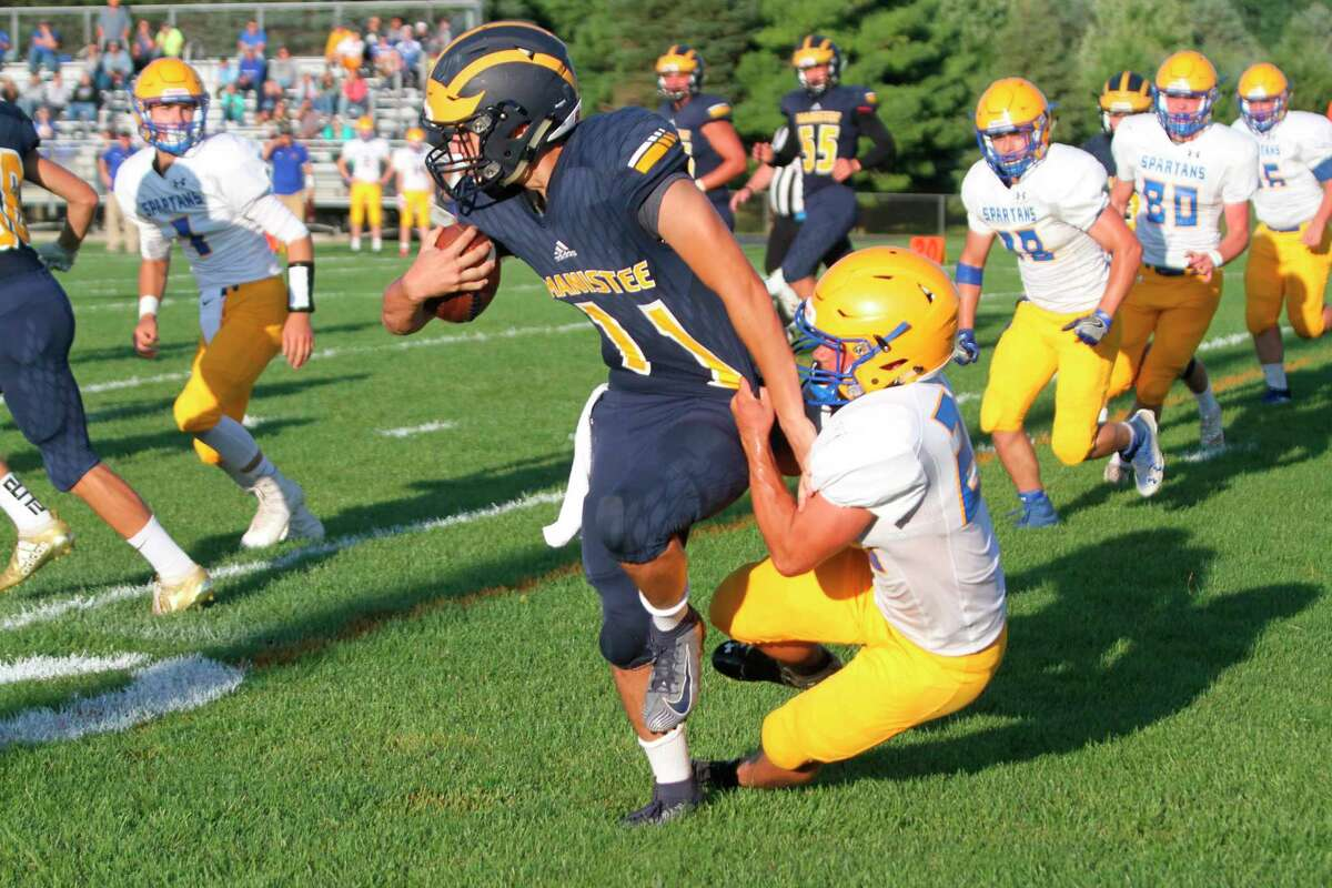 The Michigan High School Athletic Association approved the next steps in returning to sports on Wednesday by adopting a plan to phase in competition for the fall season. While all fall sports teams are allowed to practice, some -- football, volleyball and boys soccer -- have not been given the green light to compete at this time. (News Advocate file photos)