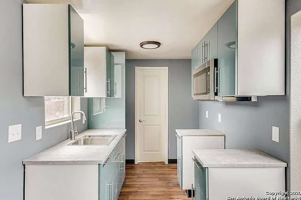 The 365-square-foot home on the West Side has one bedroom and one bath.