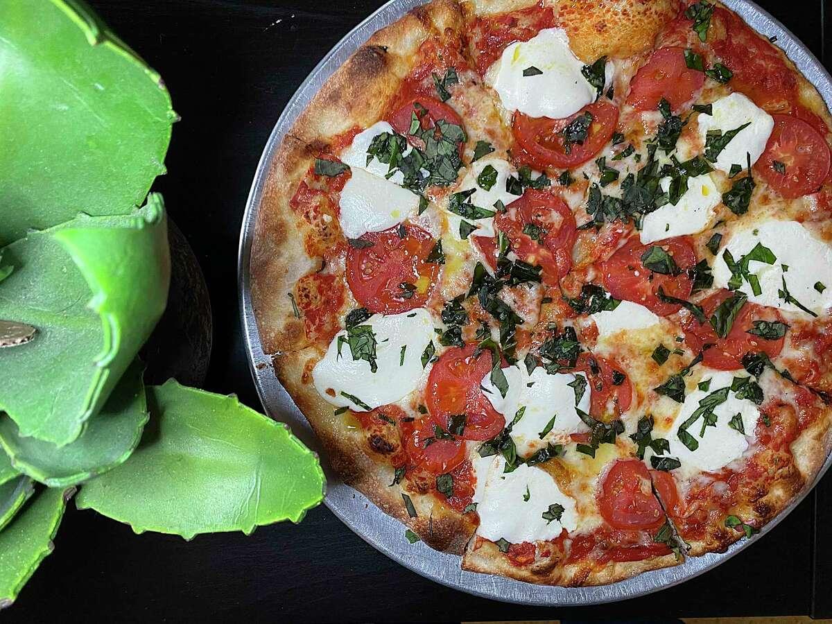 Volare Italian Restaurant on McCullough Avenue.