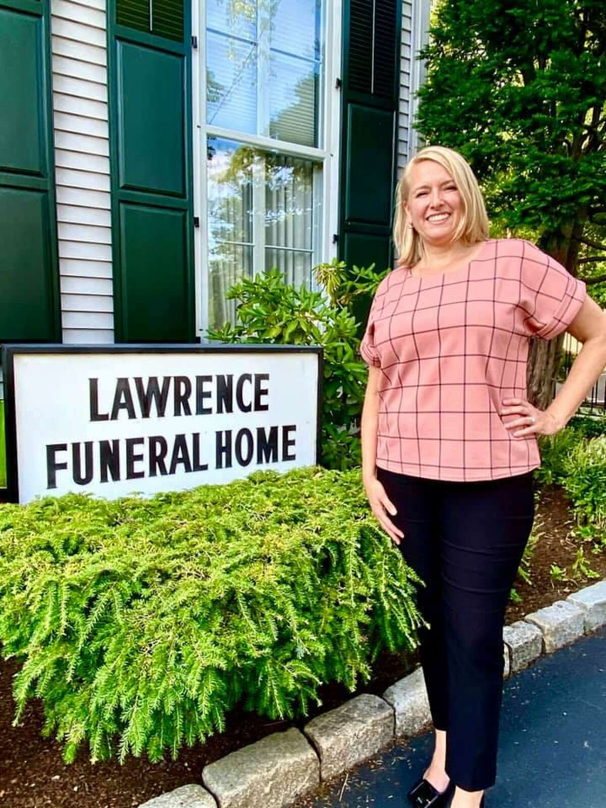 Erica Cueto of Lesko & Polke, who recently acquired Lawrence Funeral Home in Darien, will be managing the day to day operations. The staff will remain the same.