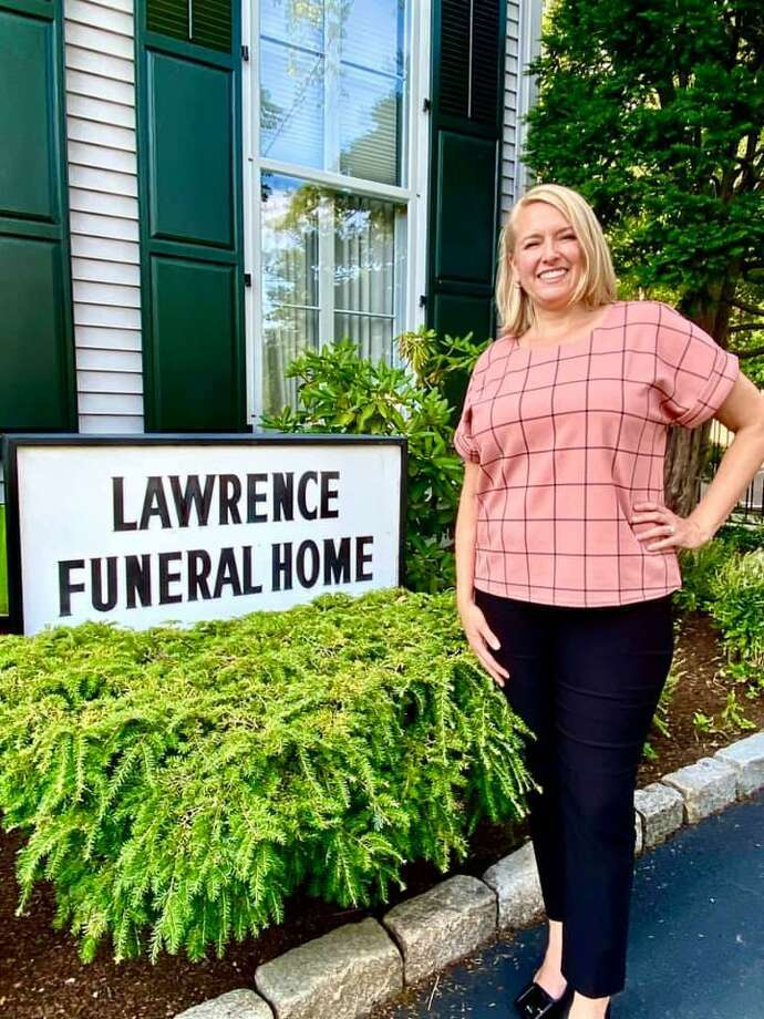 Erica Cueto of Lesko & Polke, who recently acquired Lawrence Funeral Home in Darien, will be managing the day to day operations. The staff will remain the same. Photo: Lesko & Polke