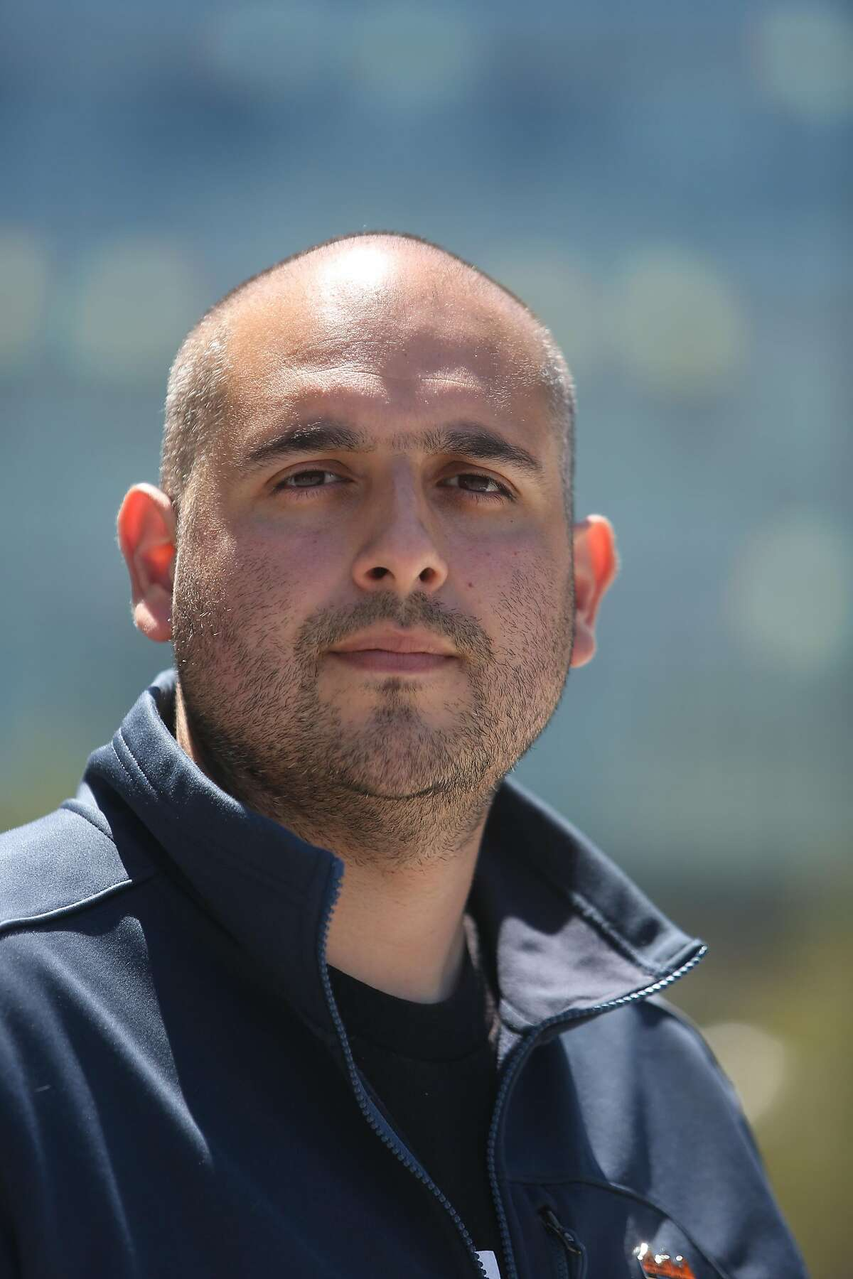 Rudy Gonzalez, executive director of the San Francisco Labor Council, stands for a portrait at UCSF Medical Center at Mission Bay on Wednesday, July 29, 2020 in San Francisco, Calif.