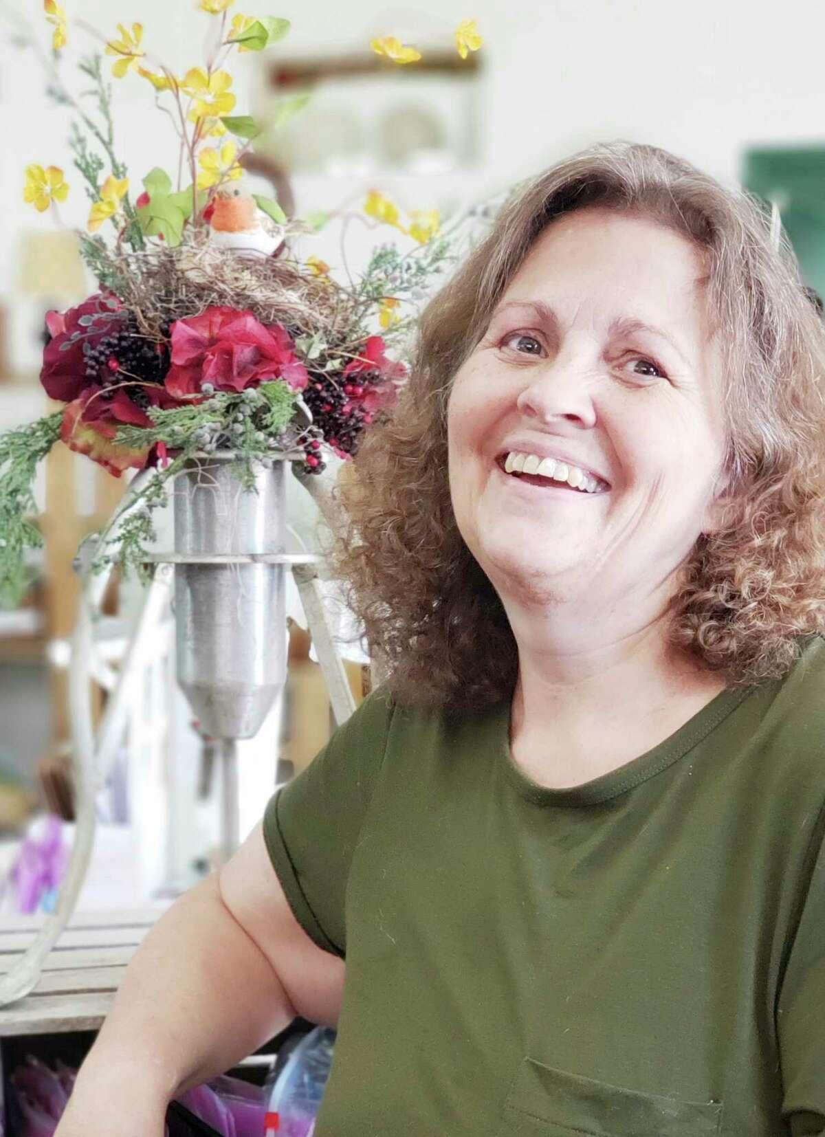 Sheila Lavender, owner of Lavender Florals. (Courtesy photo)