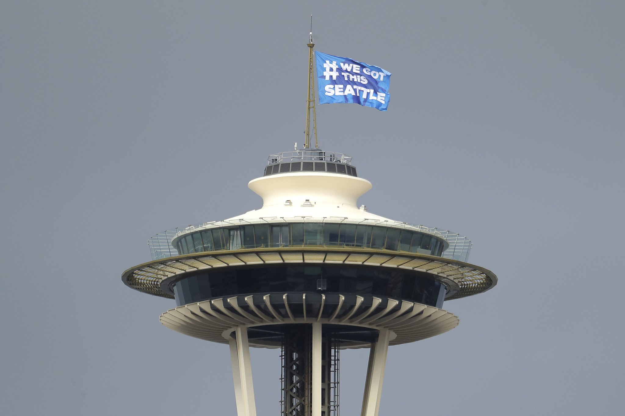 Space Needle reopens Monday with new technology, enhanced cleaning measures