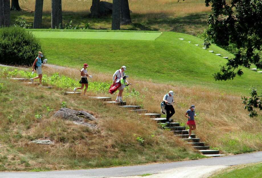 The boys and girls final of the 51st Borck Junior Golf Tournament at the Country Club of New Canaan in New Canaan New Canaan, Conn., on Thursday July 29, 2020. Photo: Christian Abraham / Hearst Connecticut Media / Connecticut Post