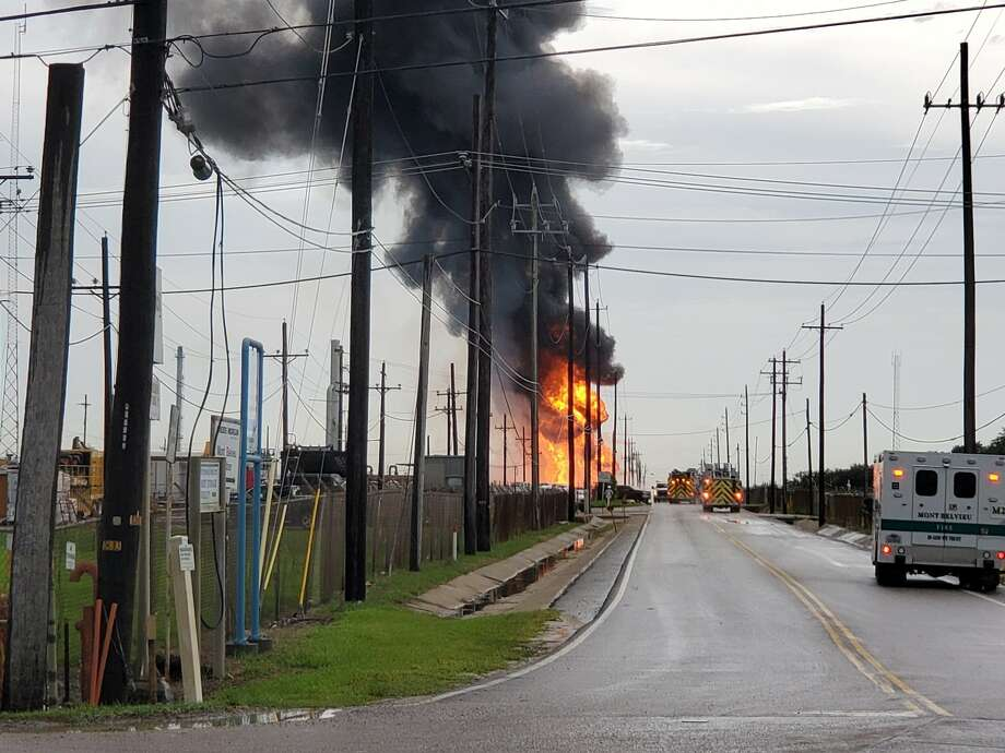 An explosion was reported Wednesday at the Lone Star NGL facility in Mont Belvieu, police say. Photo: Mont Belvieu Police Department