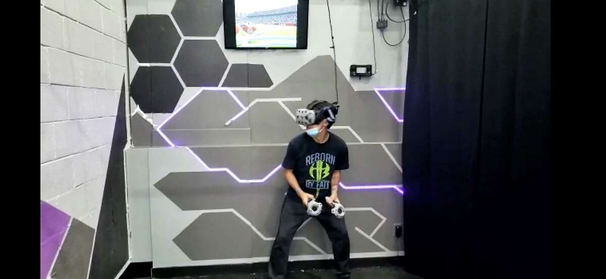 The Vault-a Virtual Reality venue recently opened at 115 Main St. in Seymour, in the space formerly occupied by Bank of America.