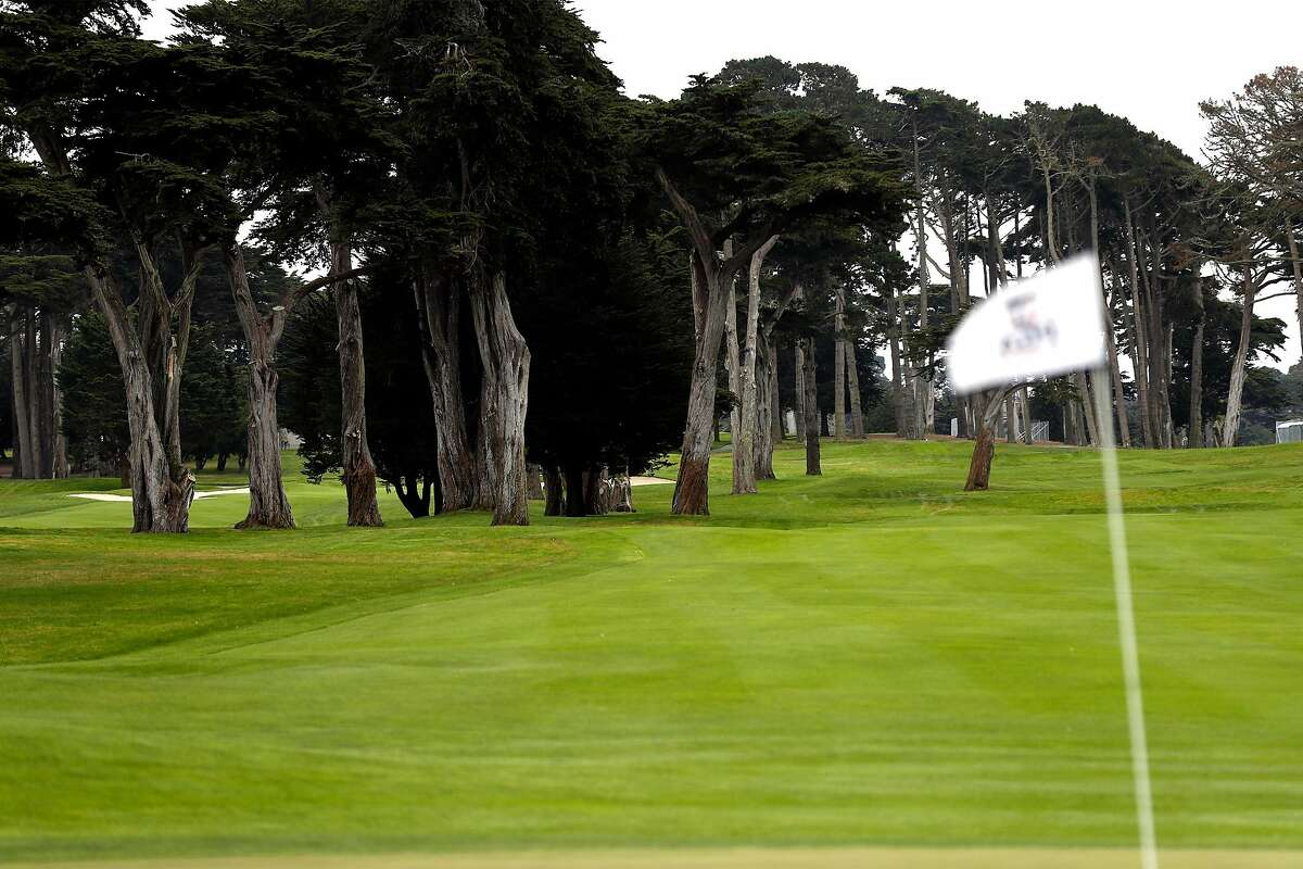 9th fairway at Harding Park Golf Course in San Francisco, Calif., on Tuesday, July 28, 2020. Harding Park will host the PGA Championship next week.