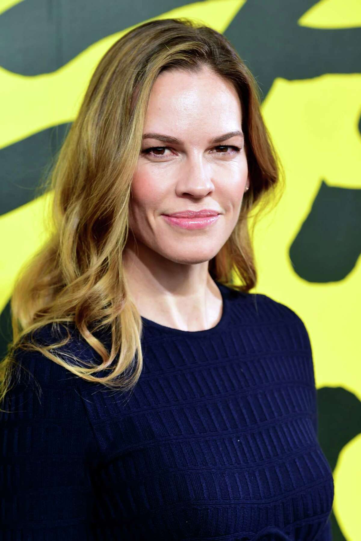 LOCARNO, SWITZERLAND - AUGUST 10: Actress Hilary Swank attends the Leopard Club Award Conversation during the 72nd Locarno Film Festival on August 10, 2019 in Locarno, Switzerland. (Photo by Pier Marco Tacca/Getty Images)