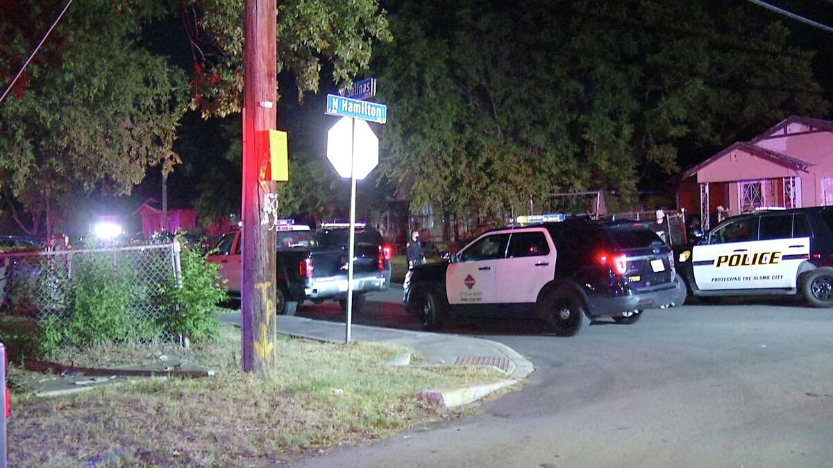 Two people were hospitalized early Thursday morning after a man broke into their home and shot them, San Antonio police said.