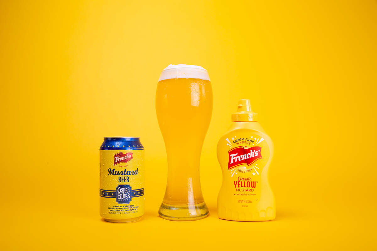 Mustard beer is here just in time for National Mustard Day on August 1.