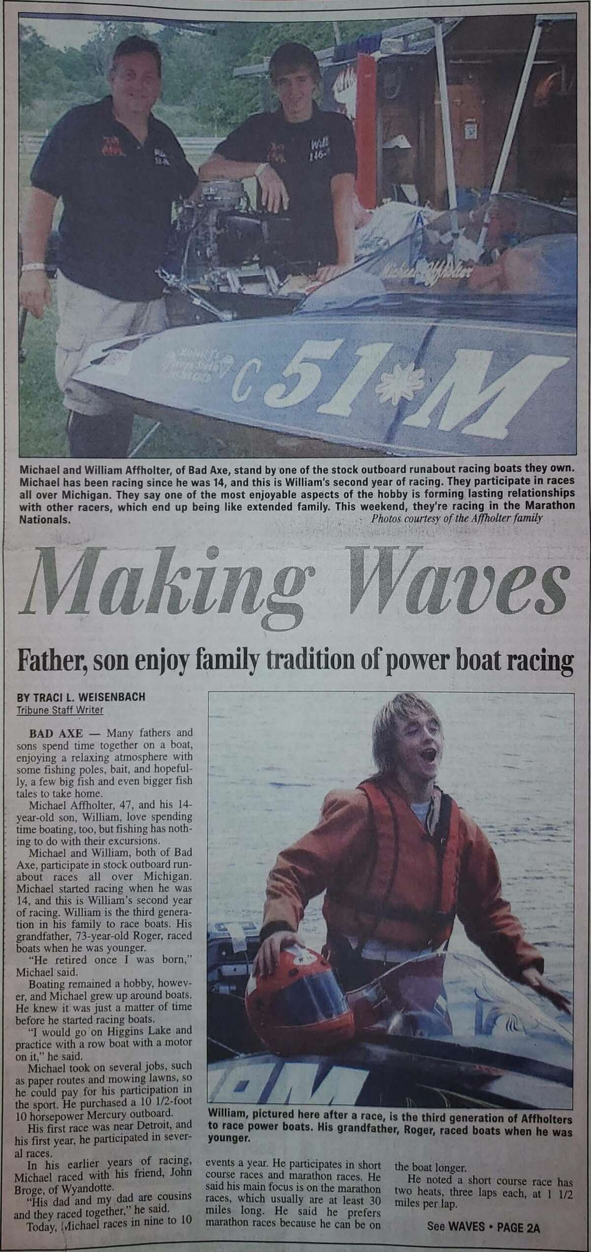For this week's Tribune Throwback we take a look in the archives from July 2010.