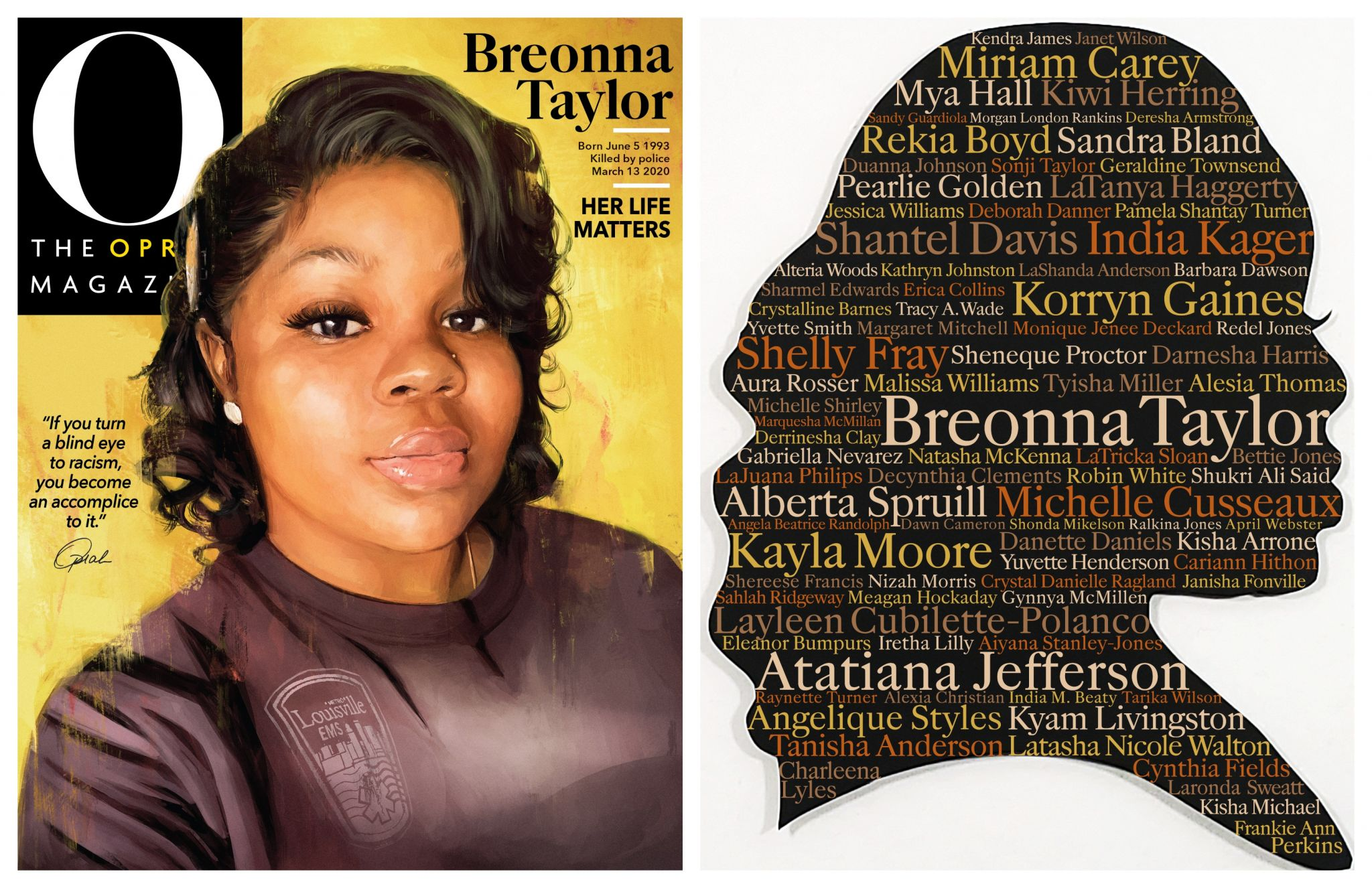 Breonna Taylor Honored On September Cover Of O The Oprah Magazine Houstonchronicle Com