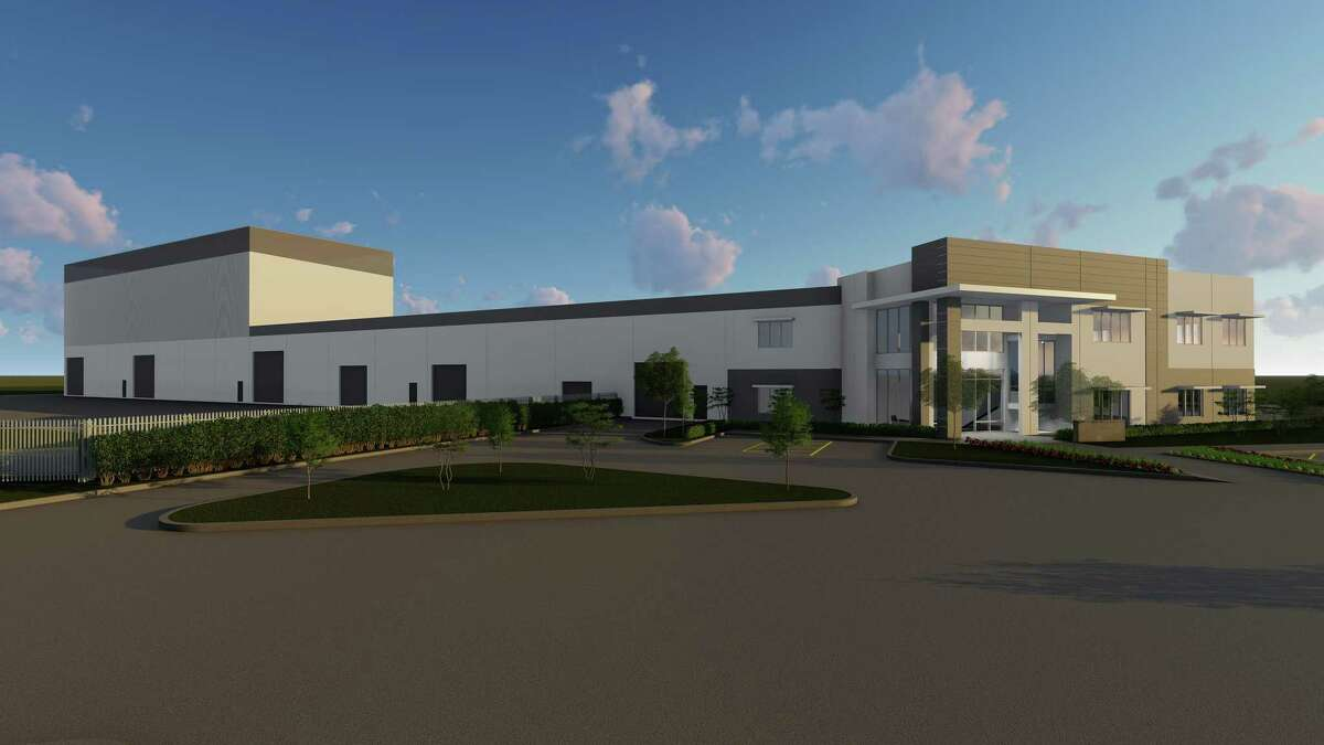 A rendering shows the new headquarters for JDR Cable Systems in Tomball. The company broke ground in July 2020.