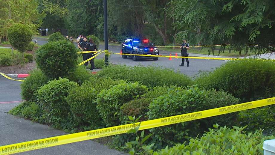 Bothell Police are on scene of an officer-involved shooting. Photo: Courtesy Of KOMO News