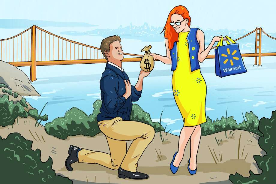 Drew Magary + Walmart = Love. Photo: Andy Andersen For SFGATE