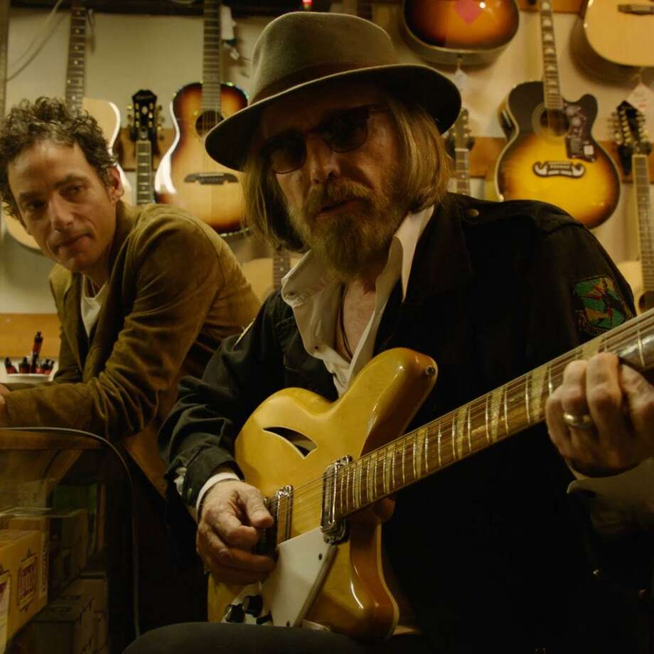 Jakob Dylan and Tom Petty appear in the music documentary, Echo in the Canyon. Photo: Greenwich Entertainment