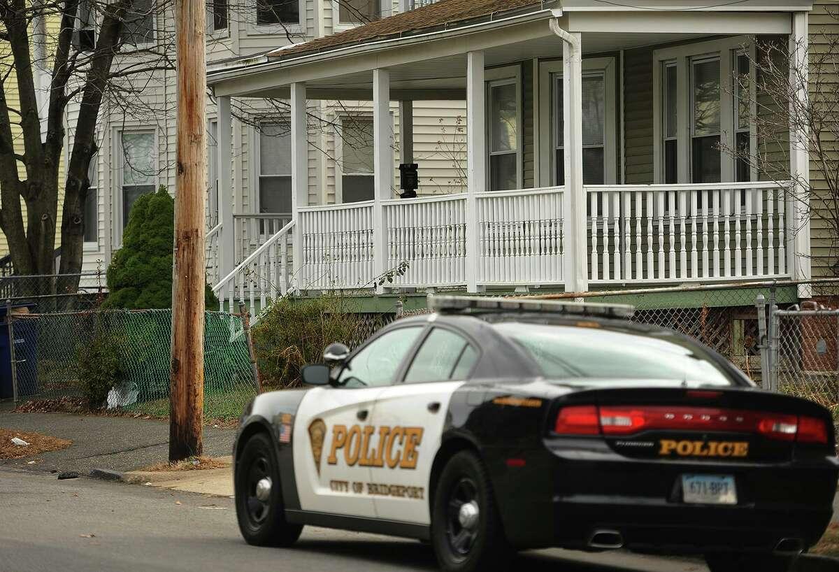 A Bridgeport police car.