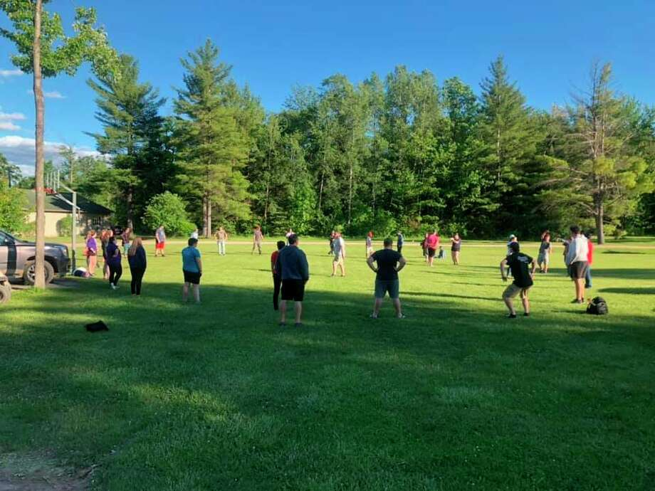 Summer staff training at Springs Ministries youth camp in June. (Photo provided/Springs Ministries Facebook)
