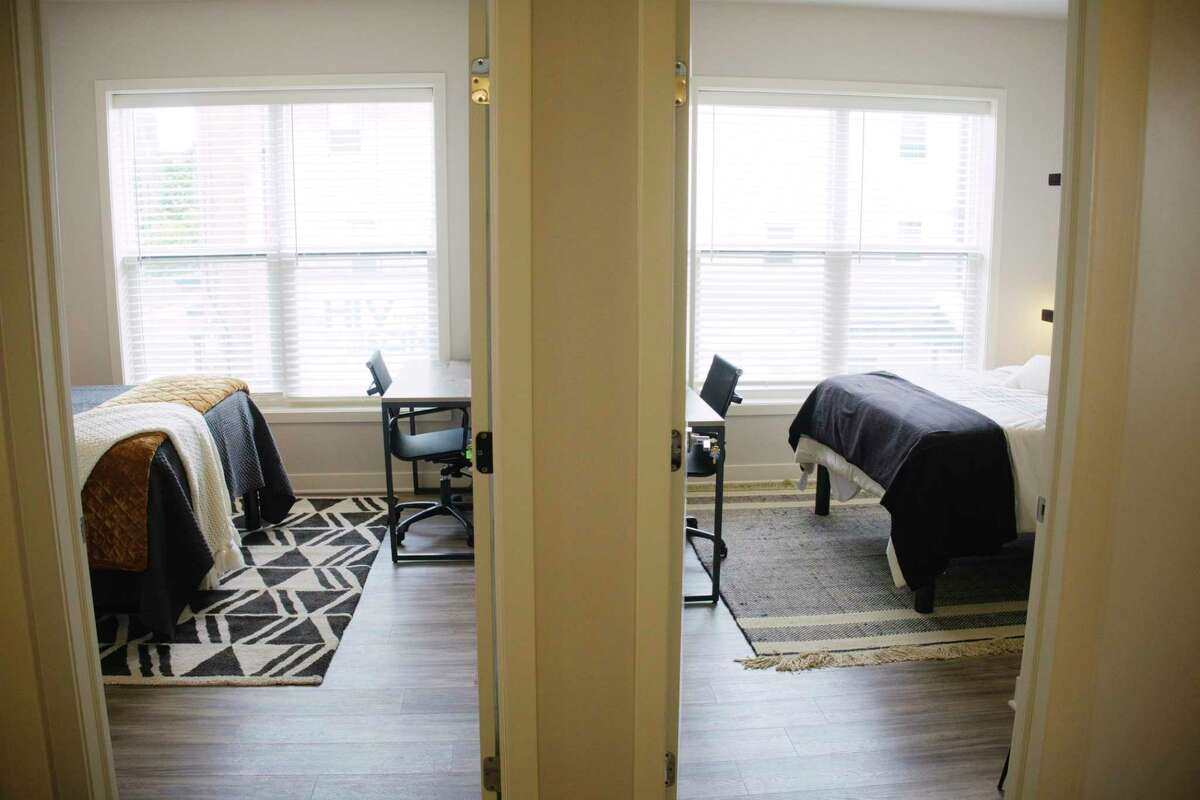 A view inside one of the apartments at Incite at Troy on Thursday, July 30, 2020, in Troy, N.Y. (Paul Buckowski/Times Union)