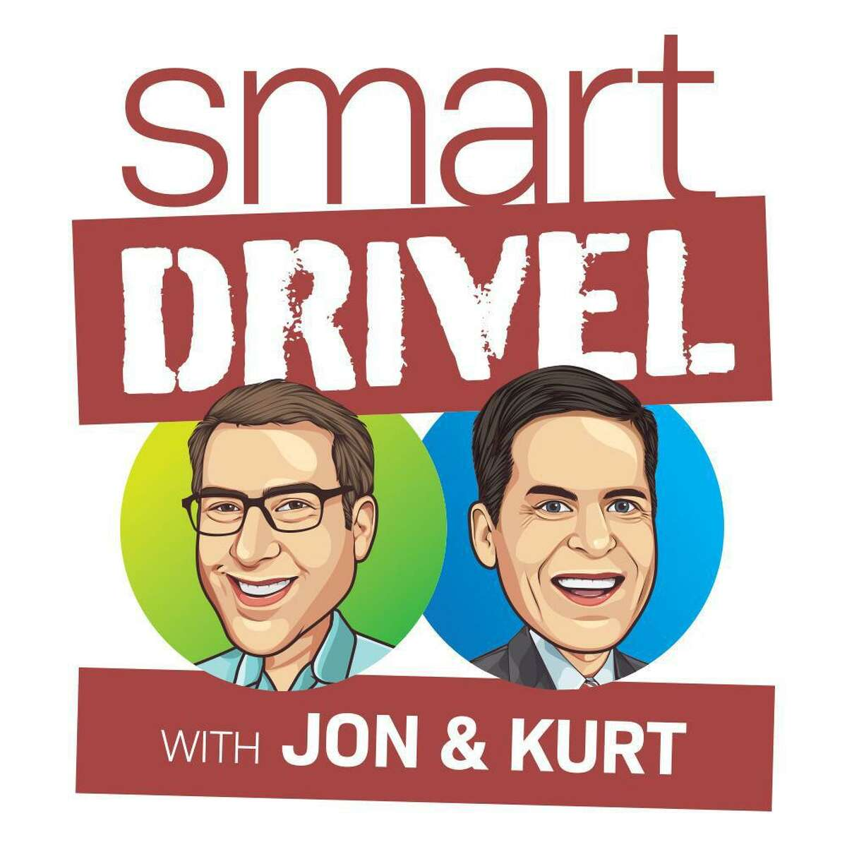 """Jon Ellenthal and Kurt Schneider of Wilton are hosts of the new podcast """"Smart Drivel,"""" which fans say is like """"eavesdropping on a private conversation."""""""
