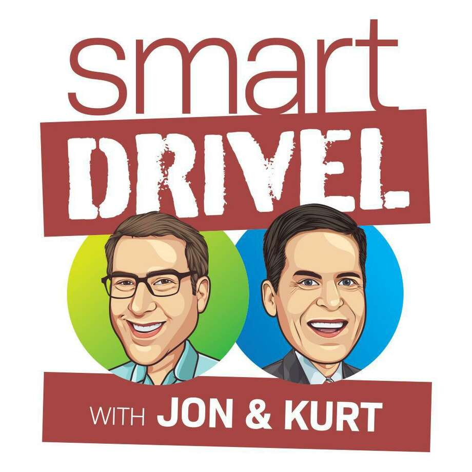 "Jon Ellenthal and Kurt Schneider of Wilton are hosts of the new podcast ""Smart Drivel,"" which fans say is like ""eavesdropping on a private conversation."" Photo: Contributed Photo"