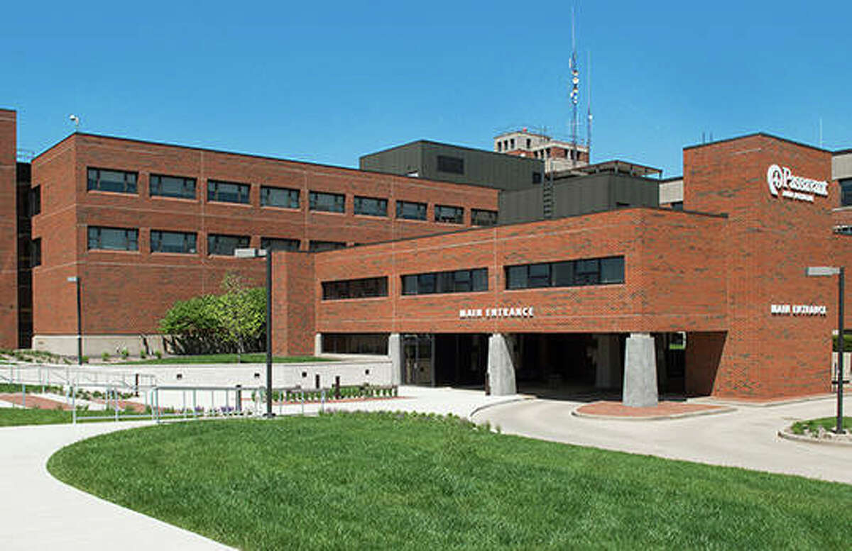 FILE - A photo of Passavant Area Hospital in Jacksonville.