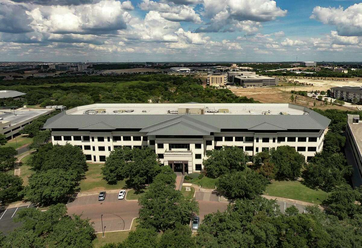 Valero Energy Corporation's headquarters is located near Loop 1604 and Interstate 10, by UTSA. July 24, 2020.