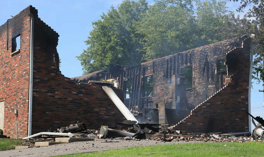 County, state and federal officials continue to investigate an early Wednesday morning fire that heavily damaged the Dow Southern Baptist Church. Two Rivers Crime Stoppers also is offering a reward for information about the fire.