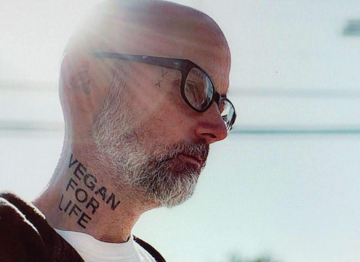 Moby, who grew up in Connecticut and is known for his music and social activism, is sharing a new animated video today for