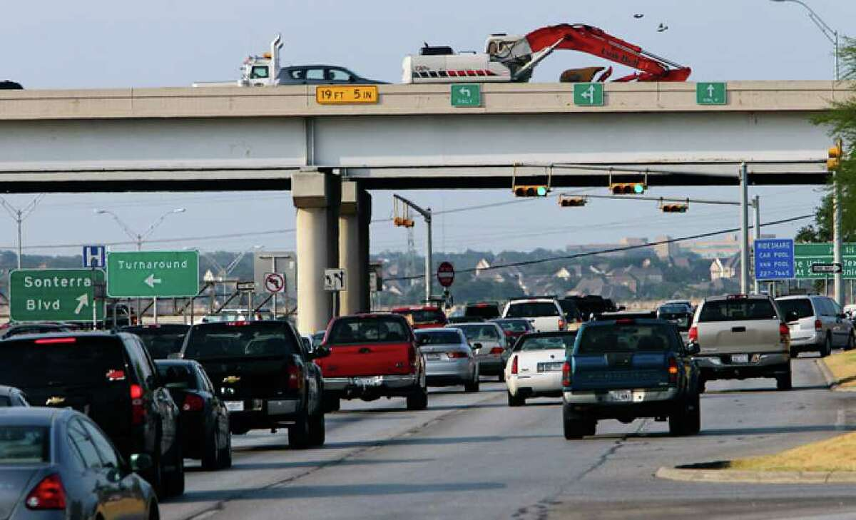 A project to improve the intersection of Loop 1604 and U.S. 281 would be funded mostly by $80 million in stimulus money, which must be spent by Sept. 30, 2015.
