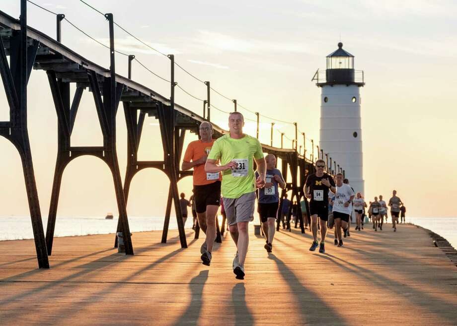 The Pier Foundation held the first annual Run the Pier 5K last year. This year's run was called off due to restrictions and concerns surrounding the coronavirus. (News Advocate file photo)