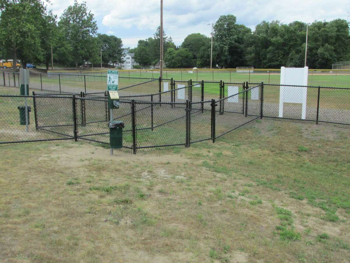 Torrington's new dog park at the John Toro Sports Complex fields on Perkins Street opens Aug. 10.