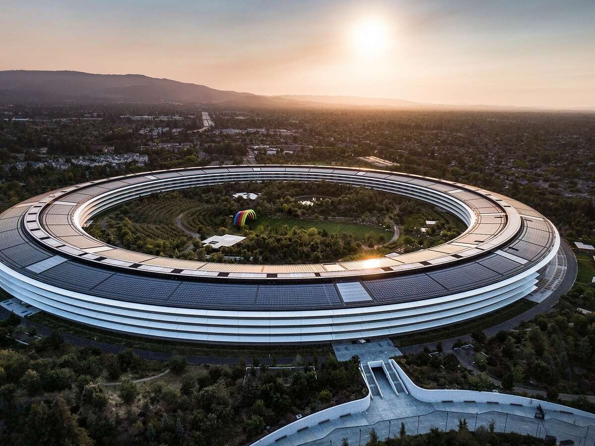 Apple Park on Wednesday, July 15, 2020 in Cupertino, CA , Calif.