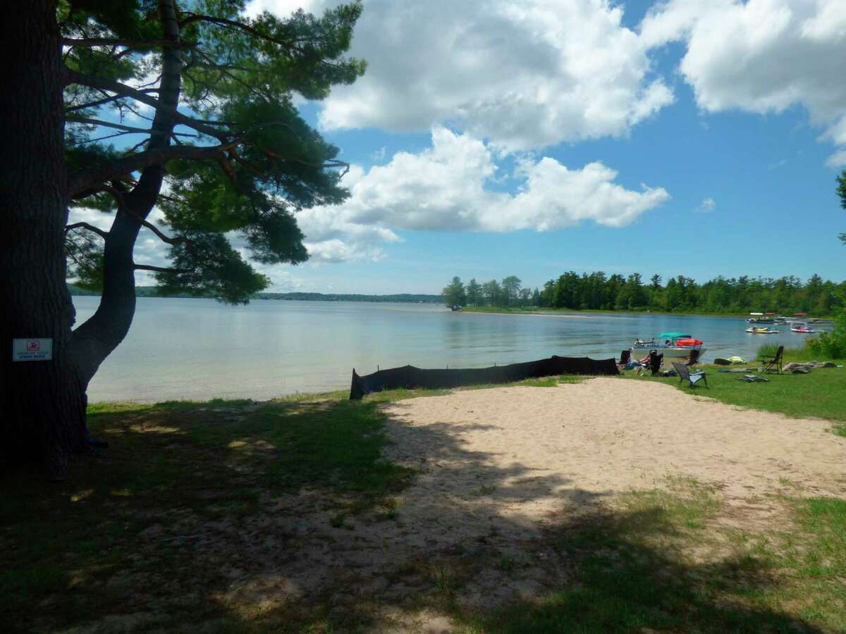 Pleasanton Township acquiredthe .91 acre property and adjacent frontage on Bear Lake in April. Officials plan to use grant funding from the Manistee County Community Foundation and Department of Natural Resources to develop the day-use park. (Scott Fraley/News Advocate)