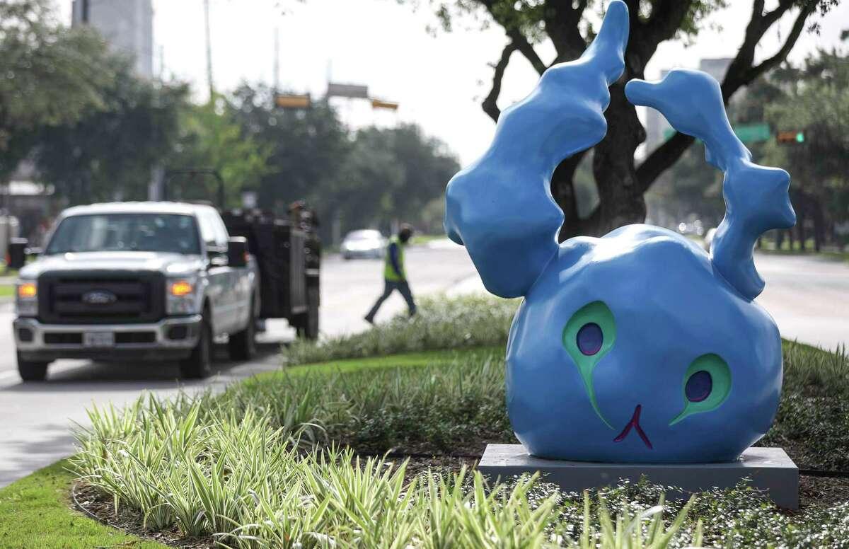 Tara Conley's sculpture