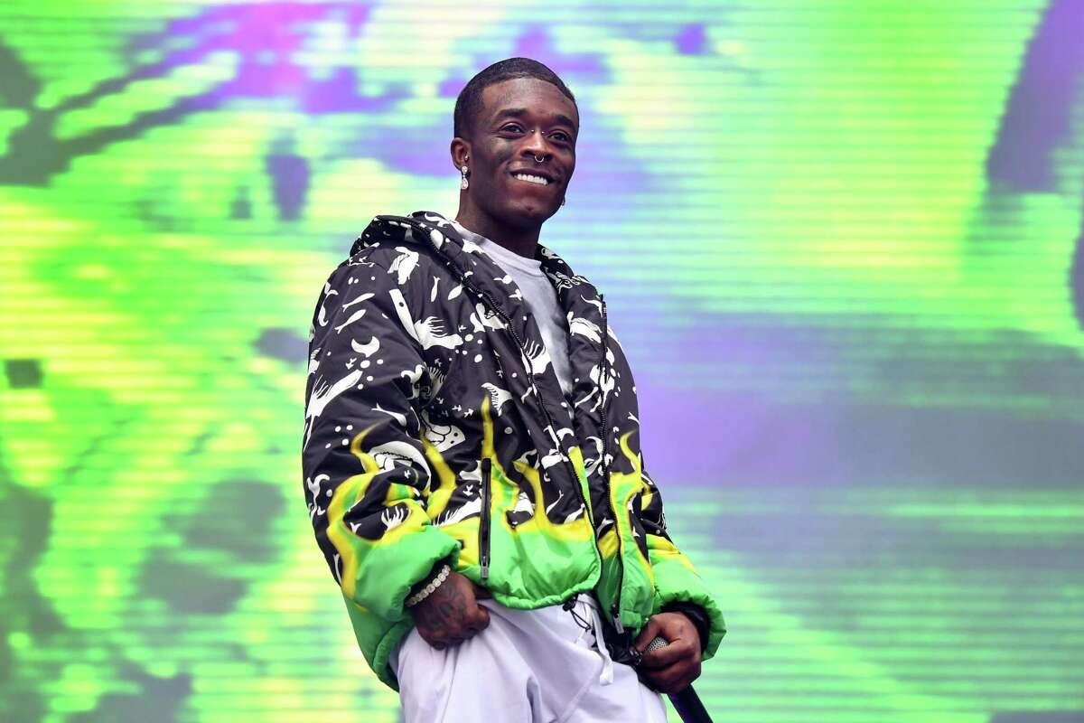 AUSTIN, TEXAS - OCTOBER 11: Lil Uzi Vert performs during Austin City Limits Festival at Zilker Park on October 11, 2019 in Austin, Texas. (Photo by Erika Goldring/FilmMagic)