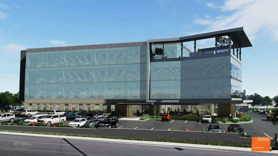Casey Development Ltd. is building an office structure at the corner of Sunset Road and Treeline Park. Photo: Illustration Courtesy Of Casey Development Ltd.