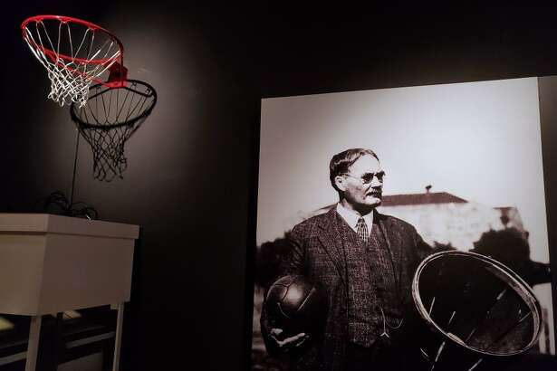 The Houston Museum of Natural Science is featuring The First Game: The Birth of Basketball exhibit which includes James Naismith's original rules of basketball from 1892.