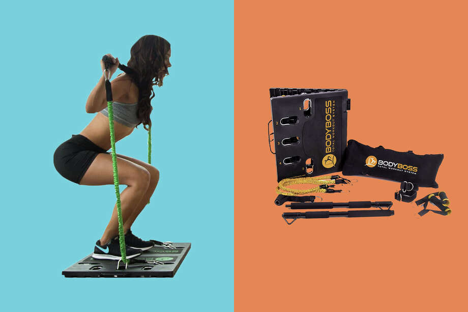 The BodyBoss 2.0 home gym is marked down to $129.99 on Amazon right now. Photo: Amazon/Hearst Newspapers