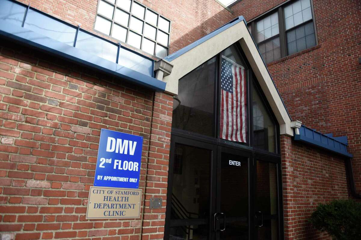 The new DMV Express office in Stamford.