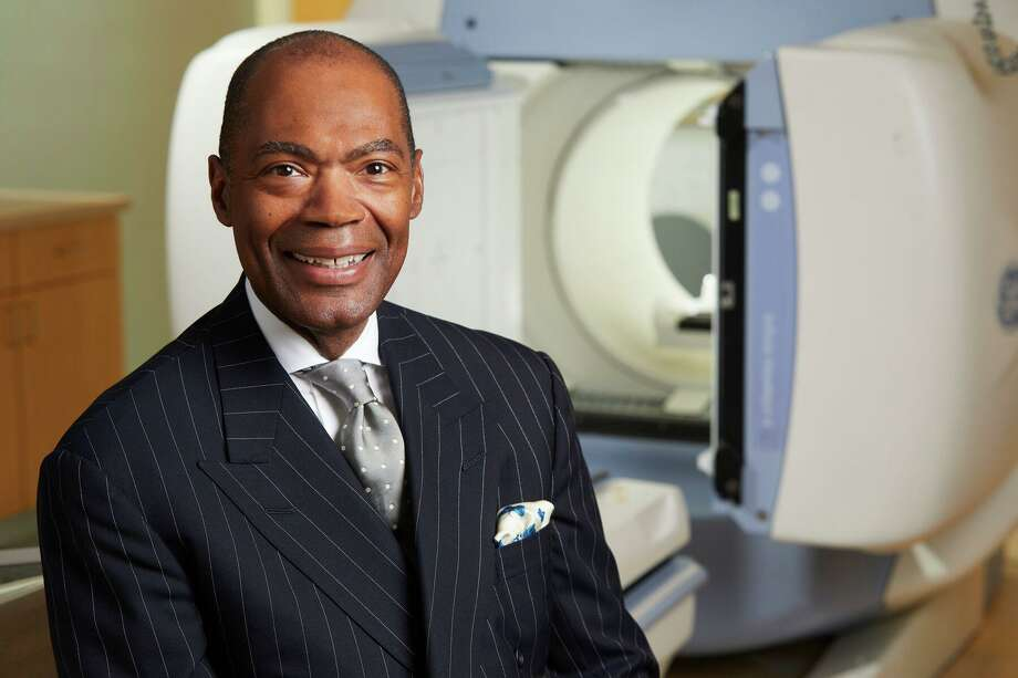 Dr. Keith Churchwell has been named the first Black president of Yale New Haven Hospital. Photo: Yale New Haven Hospital / Contributed Photo