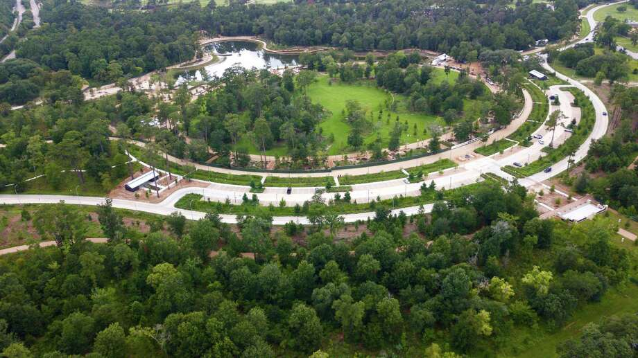 The 100-acre Clay Family Eastern Glades, the first significant project of the Memorial Park 10-year master plan is now completed and open to the public Photo: Memorial Park Conservancy