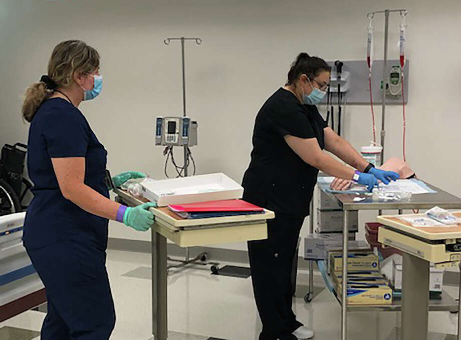 Lone Star College is offering bachelor's degrees in nursing, cybersecurity and energy, manufacturing and trades management. Photo: Courtesy Of Lone Star College