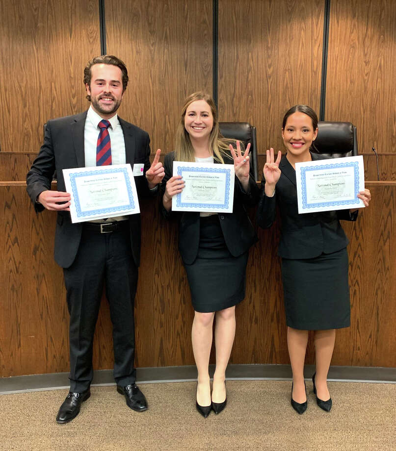 South Texas Law holds 133 national advocacy championships, more than twice as many as any U.S. law school. Photo: Courtesy Of STCLH