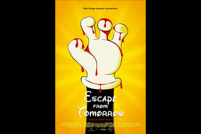 """The low budget comedy """"Escape from Tomorrow"""" was shot on location without permission from Disney and shows a father succumbing to a horrific illness."""