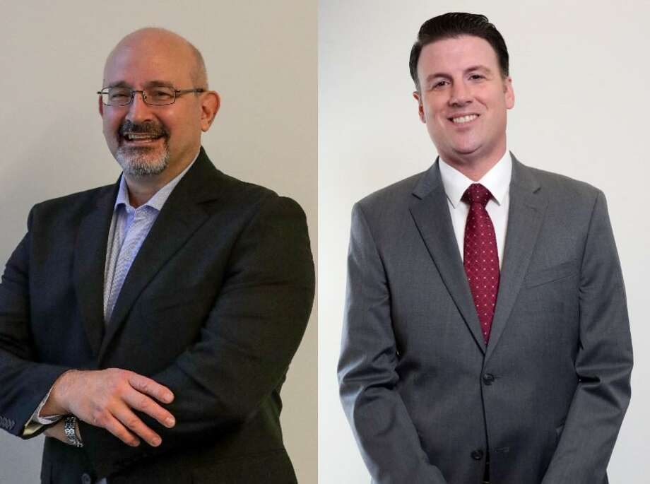 Current House District 135 Representative Jon Rosenthal(left) and Republican candidate Justin Ray (right) are continuing to campaign as the election date of Nov. 3, 2020 approaches. Photo: Rosenthal Photo: Jon Shapely/Ray Photo: Jill Karnicki / Houston Chronicle Staff Photographer