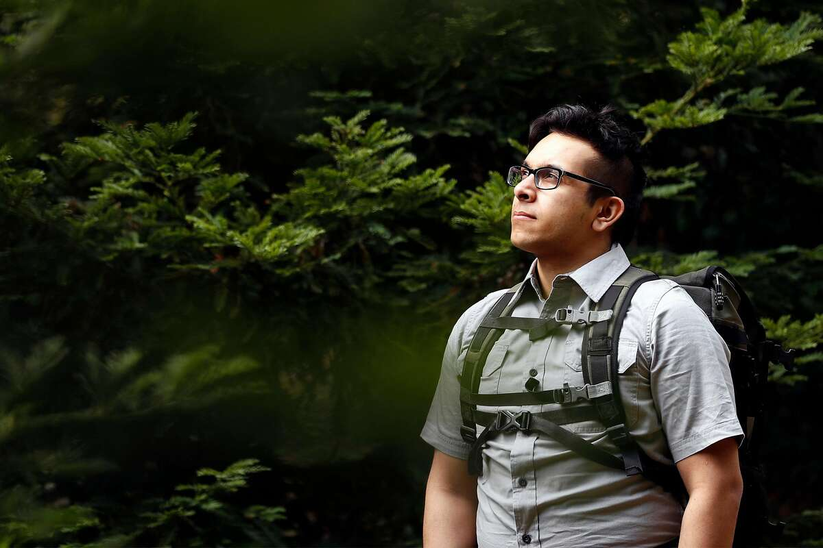 Indy Nelson at University of California-Berkeley in Berkeley, Calif., on Sunday, July 19, 2020. 26-year-old Nelson is vying for the world record of the youngest person to travel to every country. However, he's having trouble convincing Guinness World Records to acknowledge his record.