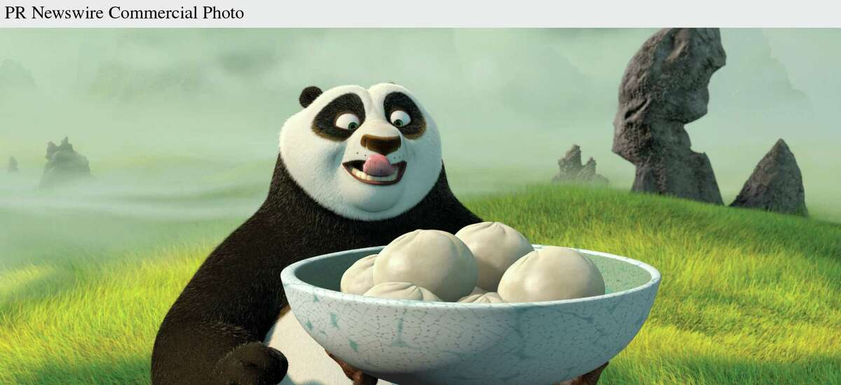 Thinking he has completed his kung fu training, giant panda Po (JACK BLACK) is offered a dumpling reward in DreamWorks'