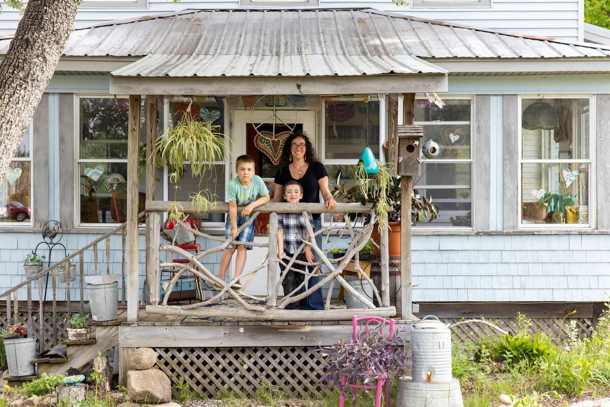 Carina Moore and family moved into a home along State Route 86 in Gabriels.